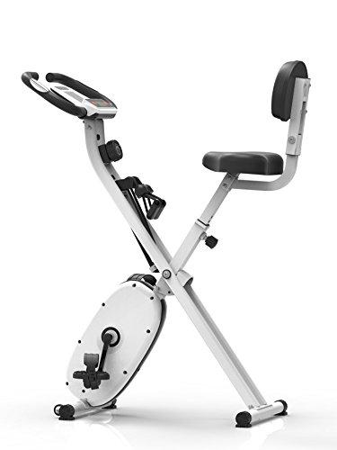 Sportplus SP-HT-1004, Bicicletta Ellittica Unisex – Adulto, Bianco, Taglia Unica