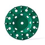 Diamond Grinding Wheel Multi Cup Wheel Diamond Disc Grinder for Concrete and Paint Epoxy Mastic Coating Removal 7 inch 5/8-11 inch bore