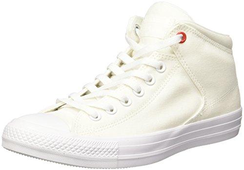 Converse 153770CC Tenis de Tenis para Hombre, color Blanco, 25.5