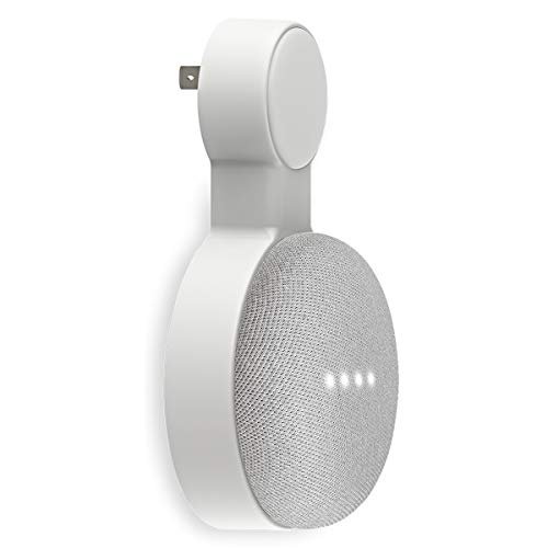 Outlet Wall Mount Holder for Google Home Mini and Google Nest Mini, Perfect...