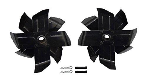 高儀 EARTH MAN 電動耕うん機用 耕うん刃(右用・左用セット) GCVP-1 替刃