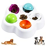 Dog Puzzle Toys Interactive Food Dispensing Dog Toys Puppy Puzzle Slow Feeder Perfect for Beginner Entertaining Pet IQ Intelligent Toy