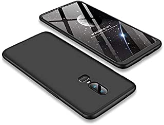 GKK Case for Oneplus 6 Case 360 Full Protection Matte Comfortable Feel Shockproof Hard PC 3 In 1 Back Case for oneplus6 Cover