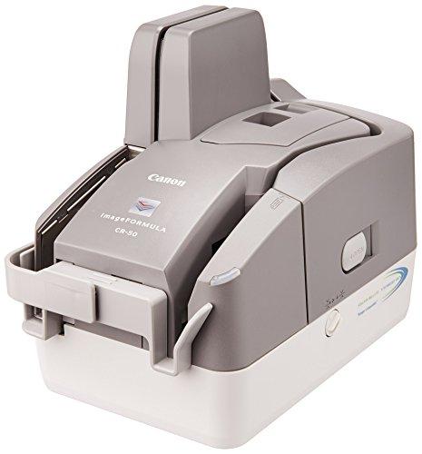 Canon 5367B002 imageFORMULA CR-50 Check Transport Scanner, White & Gray