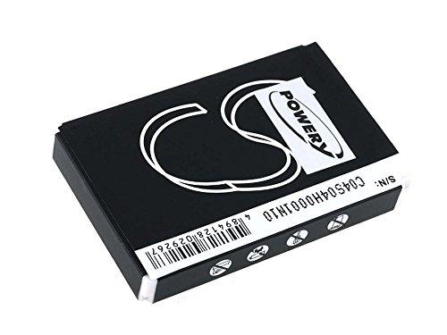 Powery Pile jetable pour télécommande universel Logitech Harmony 1100 Remote