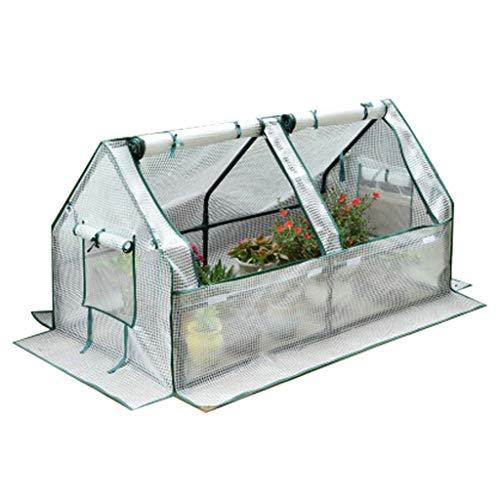 Serres de Jardin Tunnel Jardinage extérieur Grande avec Couvercle et Porte à glissière, Promenade étanche dans la, Plantes Tomate (Taille : 120×60×60cm)