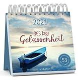 365 Tage Gelassenheit - Kalender 2021 - arsEdition-Verlag - Wochenkalender - Postkartenkalender mit fantastischen Fotos und Zitaten - 16,8 cm x 16,8 cm