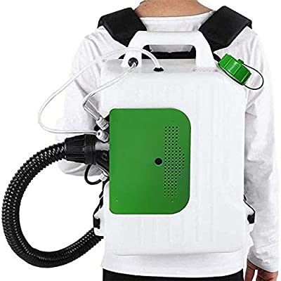 Amazon - Save 60%: Electric ULV Sprayer Fogger Backpack, 10L Portable Cold Fogging Machine Dis…