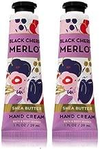 Bath and Body Works 2 Pack Black Cherry Merlot Hand Cream 1 Oz.