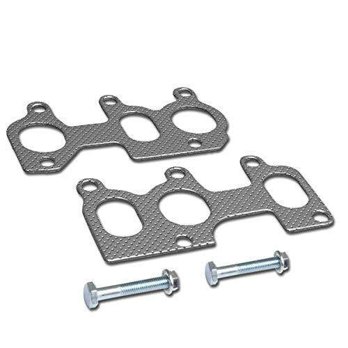 Aluminum Exhaust Manifold Header Gasket Set Replacement for 95-04 VW Jetta Golf 2.8L VR6 Engine