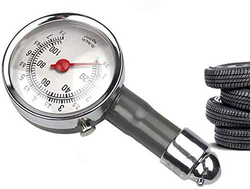 Medidor de Presión Neumáticos - Manómetro Presión Ruedas, Medición Rápida y Precisa, para Medidores de Presión de Neumáticos de Automóviles, Motocicletas, Bicicletas, SUV, RV o ATV etc