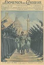 Nel XIV anniversario della Milizia: il Duce passa tra i Moschettieri che lo salutano.