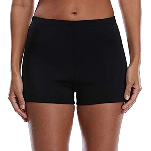 Tournesol Women's Boy Shorts High Waist Swim Shorts Boardshorts Swimwear Beach Bikini Tankini Boy Leg Bottoms …