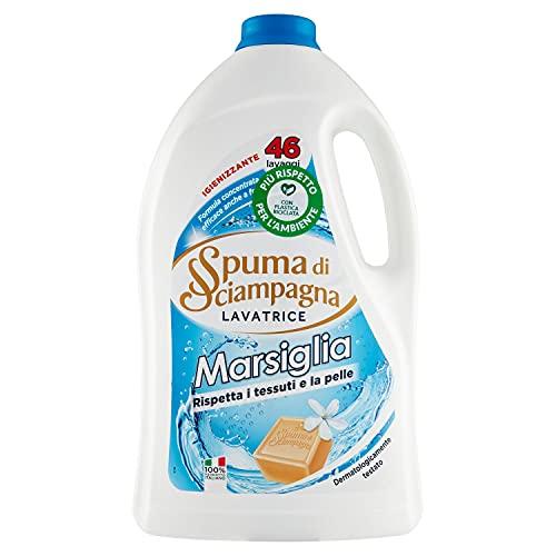 Spuma di Sciampagna Detersivo Lavatrice Liquido Marsiglia 46 Lavaggi - 2070 ml
