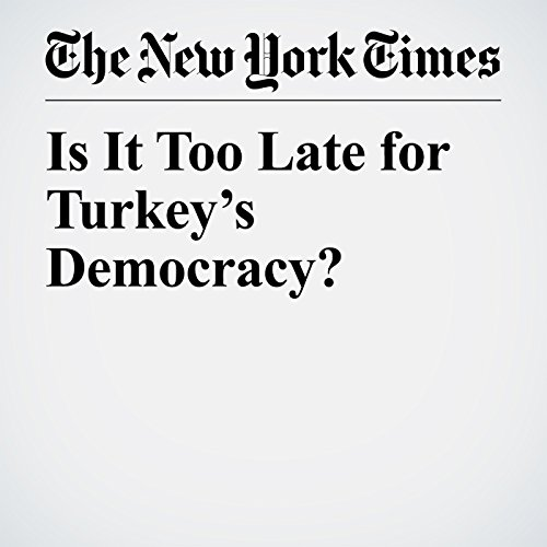 Is It Too Late for Turkey's Democracy? copertina