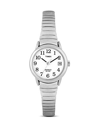 Timex Classic T2H371 Orologio Analogico da Polso da Donna, Acciaio Inox, Argento