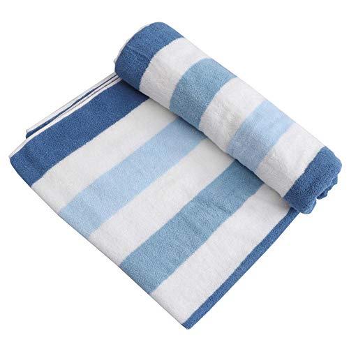 1 Pieza de Toalla de baño de algodón Puro Toalla de baño para Adultos Toalla de Ducha de Invierno para el hogar-Blue_180X90CM
