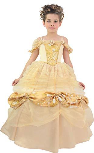 Cesar Prinzessin Belle, meisjes, F794-003, champagne-goud, 8/10 jaar