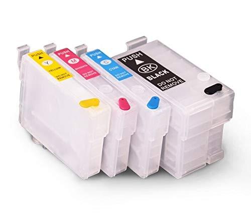 Cartucce d'inchiostro ricaricabili come T27 XL per WorkForce WF-3620, WF-3640, WF-7110, WF-7210, WF-7610, WF-7615, WF-7620, WF-7710, WF-7715, WF-7720