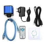 4K HDMI USB Digital Elektrische Industriemikroskop Kamera 100-240V mit Fernbedienung(EU)