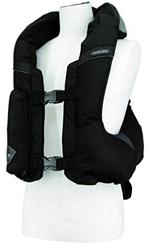 Hit-Air MLV-C Light Weight Motorcycle Airbag Vest - Adjustable XL-3XL (Black)
