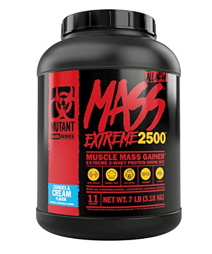 Mutant Mass Xxxtreme 2500 Cookies y Cream - 3178 gr