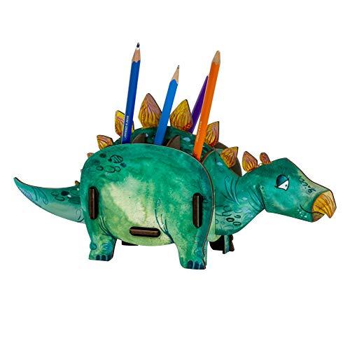 Werkhaus Stiftebox Stegosaurus Dinosaurier