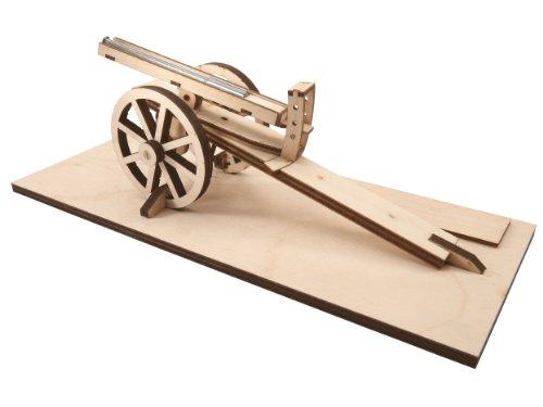 Revell 00514 - Leonardo da Vinci - Verstellbare Kanone, Maßstab 1:16