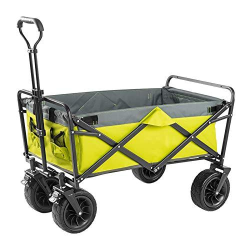 Einkaufstrolleys Faltbare Picknick Wagen Camping Angel Handcart Lebensmittelgeschäft Warenkorb Portable Trolley 8