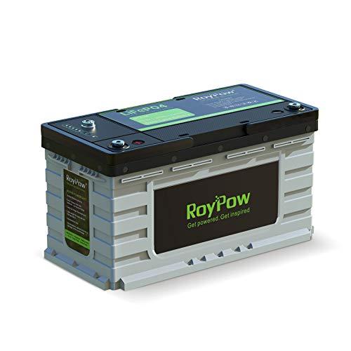 12V 105Ah Ciclo Profundo LiFePO4 batería, RoyPow 3500-8000 ciclos de Vida recchargeable Car Lithium Iron fosfato batería,