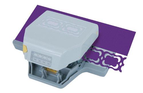 EK Tools 54-52028 2-in-1 Edger Punch, Flourish Squares