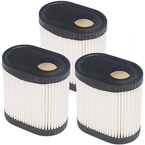 Monland Remplacement Du Filtre à Air pour Tecumseh 36905 740083A LEV100, LEV115, LEV120, LV195EA, OVRM6N Filtre à Air pour Tondeuse à Gazon-3 PièCes