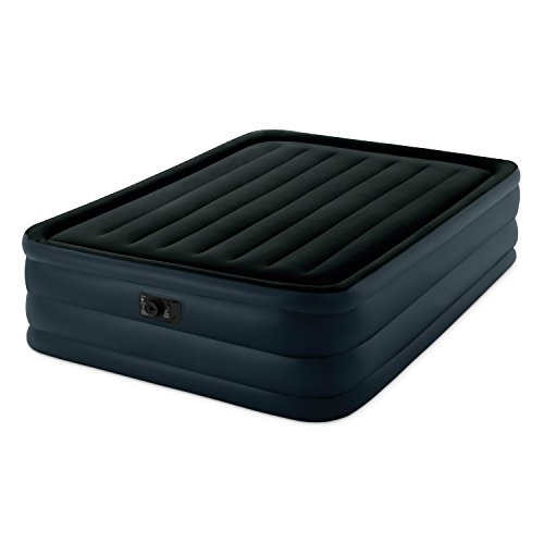 """Intex Raised Downy Airbed with Built-in Electric Pump, Queen, Bed Height 22"""""""