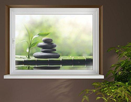 Klebefieber Sichtschutz Wohlfühloase B x H: 60cm x 40cm