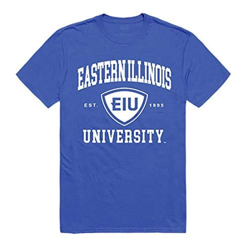 EIU Eastern Illinois University Panthers Seal Tee T-Shirt Royal XL