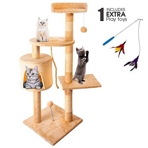 Masthome Cat Tree for Large Cat 110CM Cat Activity...