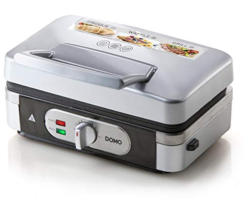 DOMO DO9136C Sandwichtoaster 3-in-1