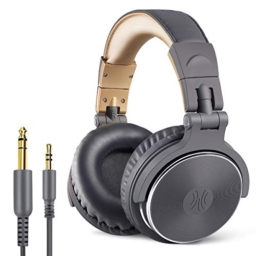OneOdio Adapter-Free Closed Back Over-Ear DJ Stereo Monitor Headphones, Professional Studio Monitor