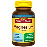 Nature Made Magnesium Oxide 250 mg Softgels, 90 Count for Nutritional Support