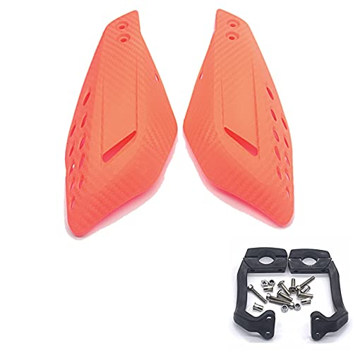 1pair Motorycle Mano Guardia Manija Protector Escudo Scooter Abarcadero Manillar Manual de Manillar Equipo de protección Protector Embrague Freno palancas (Color : 4)