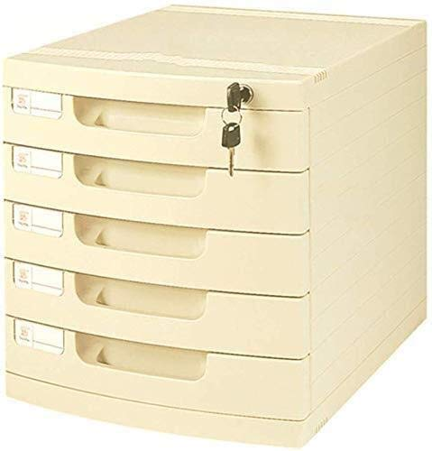 MTYLX Archivo/Bastidor, Caja de Alenamiento de Escritorio Plano Muebles Archivo de Muebles 4/5 Cajones con Bloqueo de Alta Capacidad Puede Alenar Archivos A4,1