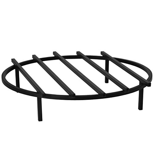Round 24 Inche Fire Pit Cast Iron Grill Grate