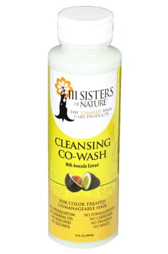 III Sisters of Nature Cleansing Co-Wash with Avocado Extract 10oz by III Sisters of Nature