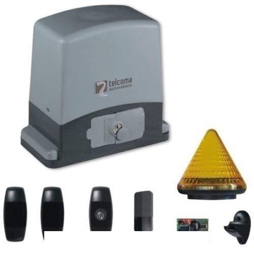 Dieffematic - Kit de automatización de Puerta corredera 600 kg 220 V BFT Came Nice para Abrir el Motor: Amazon.es: Hogar