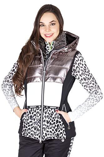 Sportalm Ski Weste Kalik 902606102 Chateau Grey 06 Größe 34