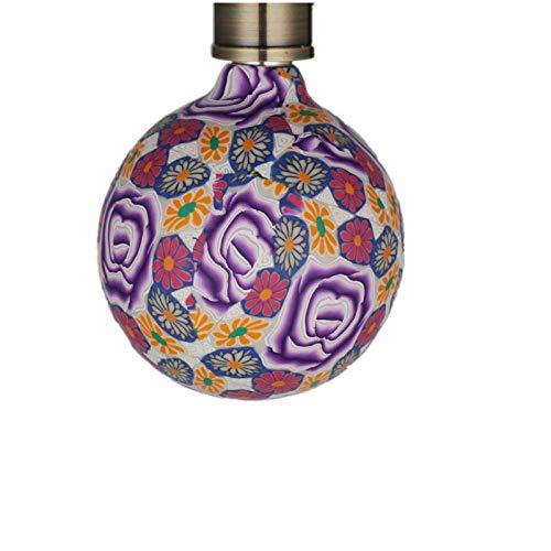 SGSDBombilla Led Art Bombilla Decoración Retro Smart Energy Saving European Glass Lamp E27 4W