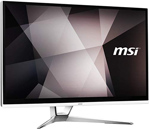 MSI PRO 22XT 9M-081EU AIO 54,6 cm (21,5 Zoll IPS-Level) All-in-One Desktop-PC (Intel Core i3-9100, 8GB DDR4, 512GB SSD, Windows 10 Home, Multitouch Touchscreen, 1920x1080 Full-HD) weiß