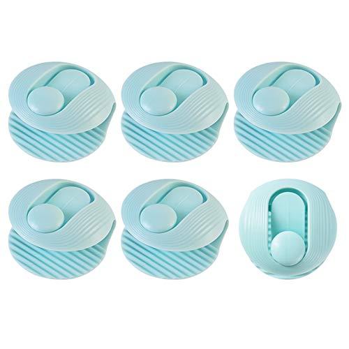 QLSN Clips De Edredón, Sujeta Nordico, Plásticos Sujeciones para Edredón Mantiene Las Edredón Previene El Desplazamiento, 4.5X4.5X2Cm, 12 Pcs Azul