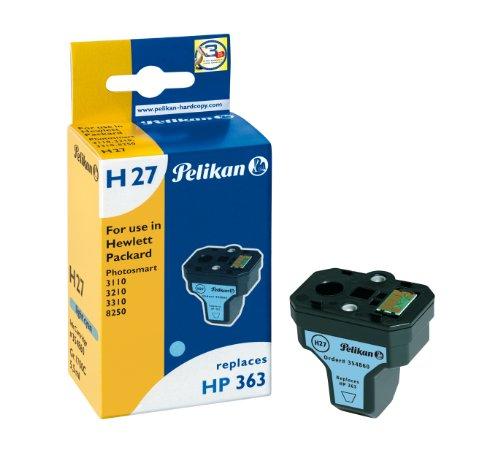 Pelikan 354860 - Cartucho de Tinta HP Photosmart 8250, 3110, 3210, 3310 - 363 - XL - Cyan Ligth