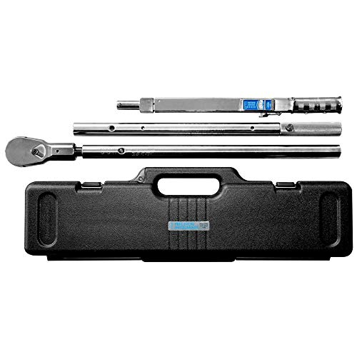 """Precision Instruments - C5D600F36H 1"""" Drive Torque Wrench and Breaker Bar Combo Pack"""
